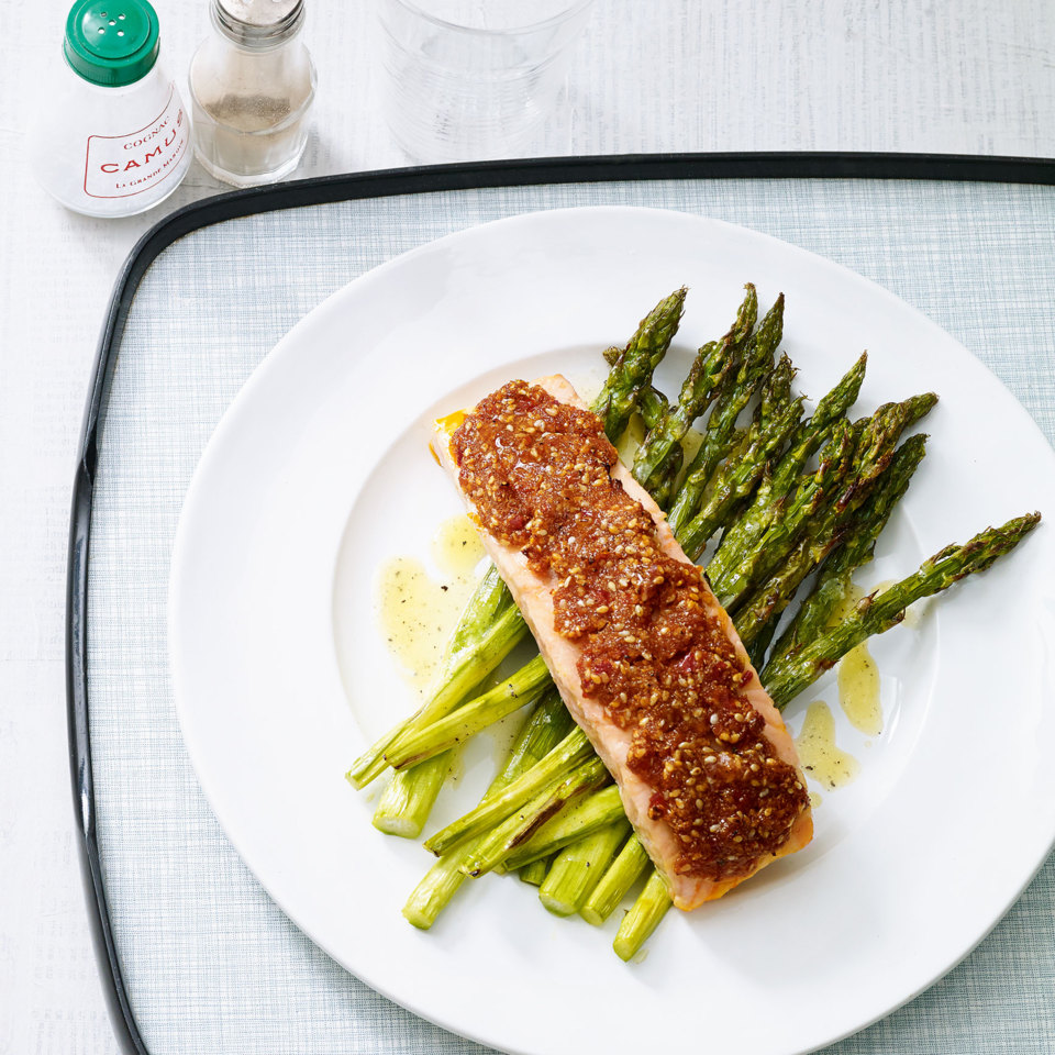 Image result for chililachs with asparagus